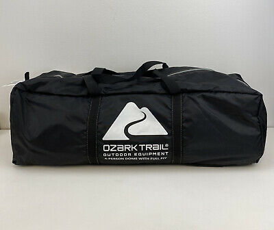 AU110.31 • Buy Ozark Trail 4 Person Dome Tent With Vestibule And Full Coverage Fly Red 8'x8'