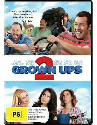 AU6.29 • Buy Grown Ups 2 (DVD) Adam Sandler / Chris Rock - Region 4 - New And Sealed