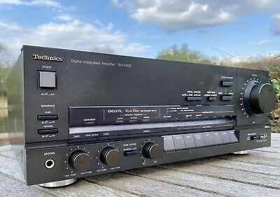 £270 • Buy Technics SU-V90D Digital And Analogue Integrated Amplifier Class AA Demo Welcome