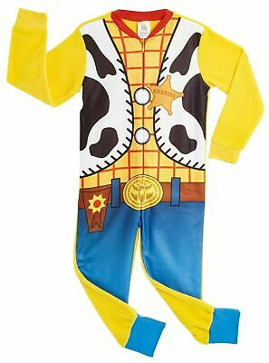 £14.99 • Buy Disney Toy Story Woody All In One Pyjamas Fun Kids Costume For Boys And Girls
