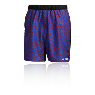 £35.09 • Buy Adidas Mens Terrex Primeblue Graphic Trail Running Shorts Pants Trousers Bottoms