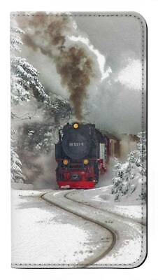 AU33.73 • Buy W1509 Steam Train Flip Case For IPHONE Samsung ETC