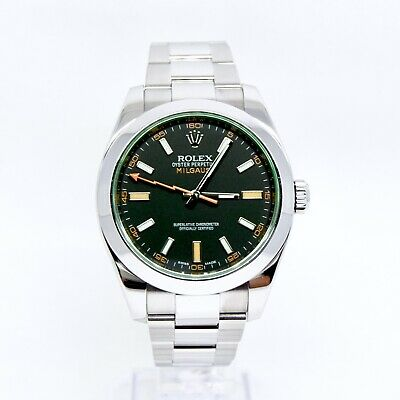 $ CDN27264.73 • Buy Rolex Milgauss 116400GV Box And Papers 2014 Limited Edition Robert Downey Jnr