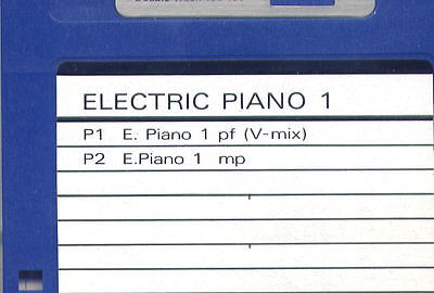 AU6.62 • Buy ELECTRIC PIANO 1 - SOUND DISK Formatted For ROLAND W-30