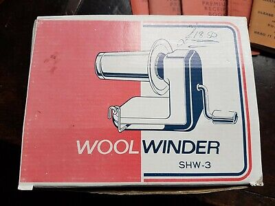 Wool & Yarn Winder SHW3 Vintage 30 Years Old  • 19.99£