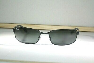 AU33.49 • Buy Men's Ray-ban Rb 3194 006 59 17 3n Italy Rectangle  Black Very Good Lens