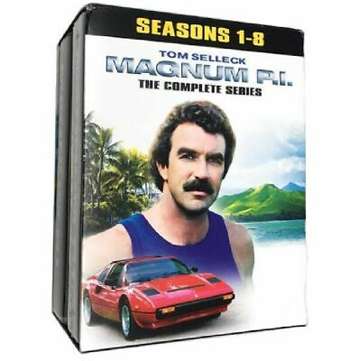 £71.99 • Buy Tom Selleck P.I Magnum PI Season 1-8 Complete Series Collection DVD Box Set New