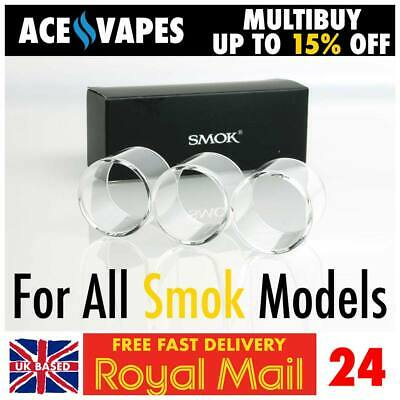 £6.89 • Buy 3x SMOK Glass Pieces Spare Pyrex Tube For All SMOK Models Kits And Tanks TPD