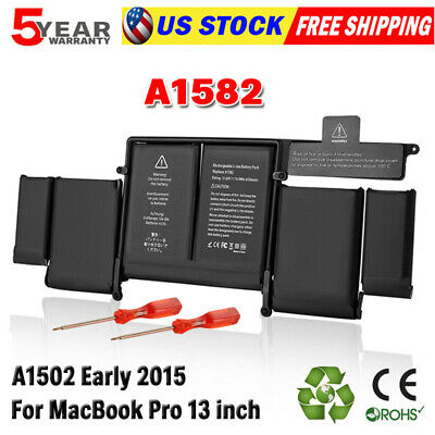 $52.99 • Buy Genuine OEM Battery A1582 A1502 For Apple MacBook Pro Retina 13  Early 2015 EMC