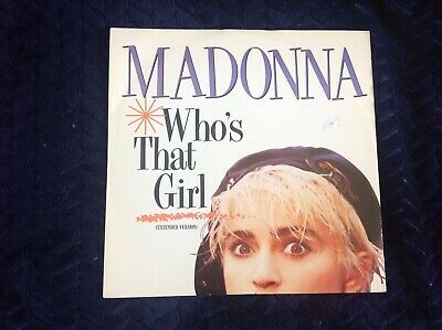 £4.80 • Buy Madonna Who's That Girl 12 Inch Vinyl Single