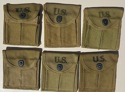 $ CDN69.36 • Buy Us Wwii M1 Carbine New Old Stock Slip On Stock Pouches