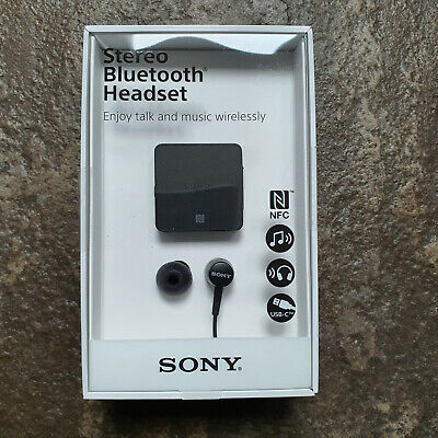 £31.99 • Buy Sony SBH24 Stereo Bluetooth Headset - Clip On Lightweight Hands Free Brand New 2