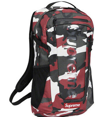 $ CDN325.81 • Buy Supreme Red Camo Backpack Ss21 (in Hand) Os 100% Authentic/ Brand New..