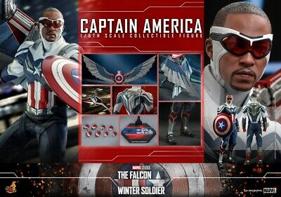 $ CDN569.39 • Buy Hot Toys The Falcon And The Winter Soldier 1/6th Captain America Figure TMS040