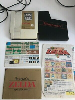 AU165 • Buy The Legend Of Zelda NES PAL Manual And Maps