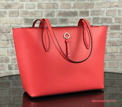 $ CDN124.46 • Buy Kate Spade New York Adel Leather Small Tote Shoulder Bag Purse $299