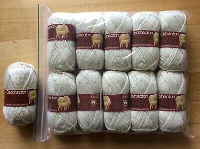 AU31 • Buy Cleckheaton Country Naturals Yarn 100% Wool 8 Ply X 11 50g Balls Made In Aust