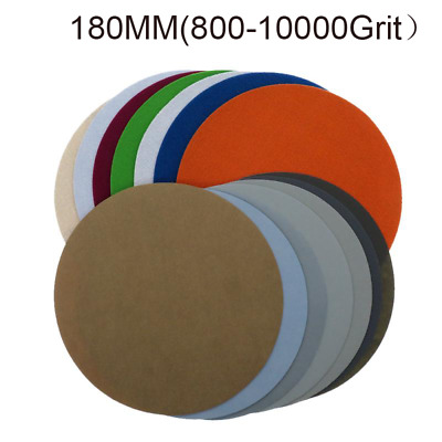 AU10.69 • Buy 180mm Wet Sandpaper Sanding Disc Flocking 7 Inch Precision Polishing