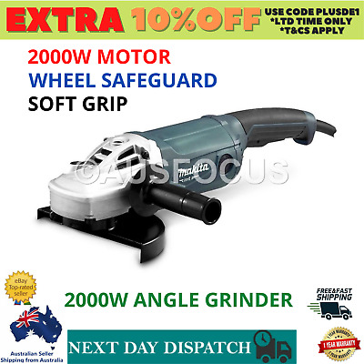 AU189.97 • Buy Angle Grinder Makita 9  230mm 9 Inch Powerful 2000W Cord M9001G Trigger Switch