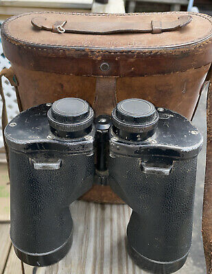 $139.95 • Buy WWII M17 7x50 Binoculars W M24 Leather Carrying Case Military