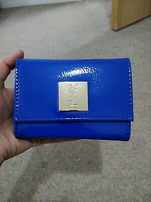 £7 • Buy YSL Beaute  Prestige Blue Wallet With Mirror