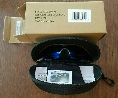 AU19.09 • Buy Bell & Howell Blue Lens Tac Glasses Polarized Sunglasses With Case & Box 1931MOQ
