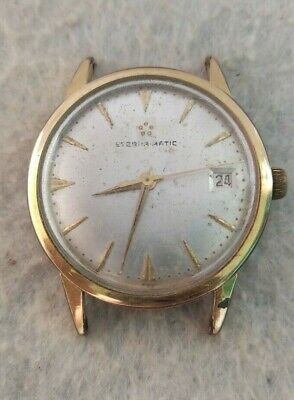 Vintage Eterna Matic Watch Gold Cover Mens VE • 99£