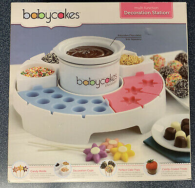 Baby Cakes Cake Pop Candy Multi-function Decoration Station New In Box • 10.73£