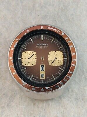 $ CDN193.22 • Buy Seiko 6138-0040 BULLHEAD Chronograph Automatic Watch Vintage For Restore Project