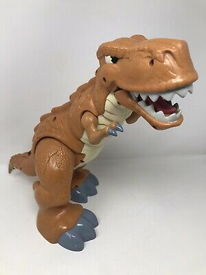 £12.99 • Buy Fisher Price Imaginext Mega T- Rex Electronic Dinosaur Action Figure 2011 Tested