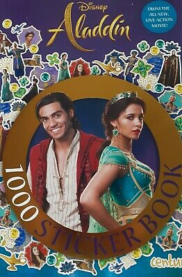 £6.30 • Buy Aladdin New Childrens 1000 Stickers Book From The Film By CENTUM BOOKS RRP £7.99