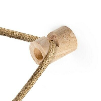 """£3.30 • Buy Decentralizer, Fabric Cable Wooden Ceiling Or Wall """"V"""" Hook"""