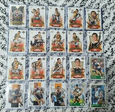 AU199 • Buy 2005 West Tigers  Premiers NRL Grand Final Signed Footy Cards