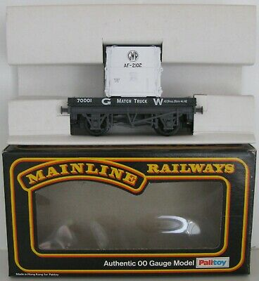 £14.49 • Buy Mainline OO Gauge 37401 GWR 10T Match Truck 70001 + Container AF-2102