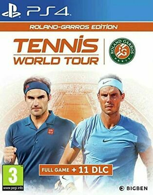 AU17.87 • Buy Tennis World Tour : Roland Garros Edition, PS4, PlayStation 4 Game: New & Sealed
