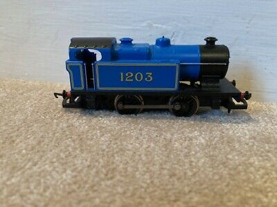 Hornby R2131 Class D Industrial 0-4-0T 1203 In Caledonian Railways Blue 00 Gauge • 12.50£
