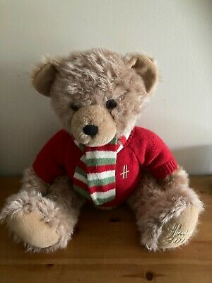 Harrods Teddy Bear 2010 Archie In Very Good Condition  No Tags See Pictures  • 10£