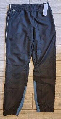 £49 • Buy Mens Lacoste Black Tracksuit Bottoms Pants Size Small 3 Bnwt RRP £95