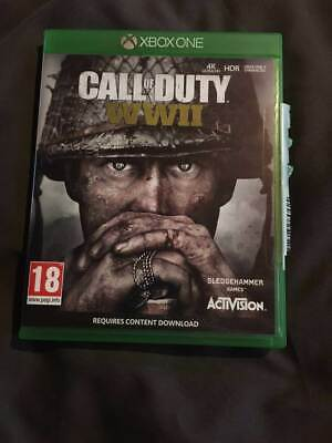 Excellent   Condition ( Call Of Duty - Ww2 )  Xbox One  Game • 1.20£