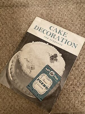 Cake Decorating Book Decoration Vintage  • 3£