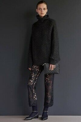 AU90 • Buy Scanlan Theodore Black French Lace Trouser Size 10