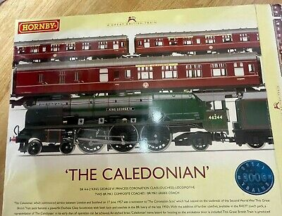Hornby OO Gauge R2306  'The Caledonian' Limited Edition Pack King George Duchess • 99.50£