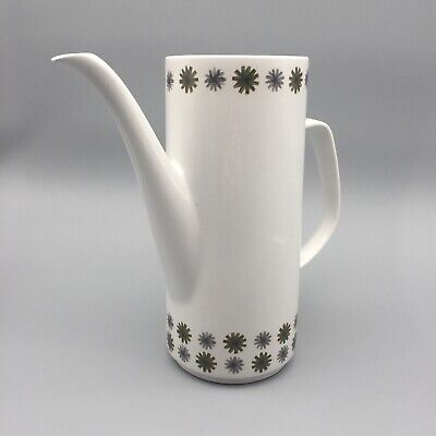"""£12.95 • Buy J&G Meakin """"Allegro"""" Coffee Pot By Tom Arnold 1960s Retro - Base Only  No Lid"""