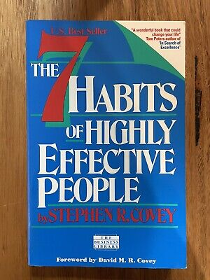 AU23.95 • Buy 7 Habits Of Highly Effective People By Stephen R. Covey (Paperback, 2001)