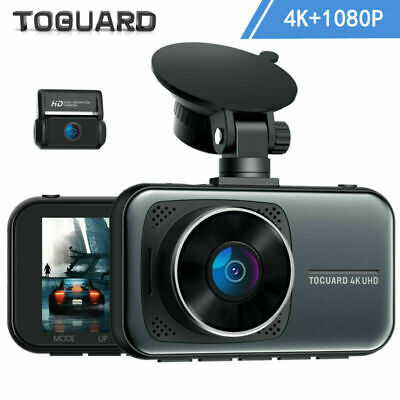 AU99 • Buy TOGUARD 3  4K Dual Dash Cam Car DVR Front + Rear Dashboard Camera Video Recorder