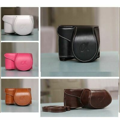AU20.88 • Buy PU Leather Camera Case Bag For Sony A5000 A5100 A6000 A6300 Case Cover Quality