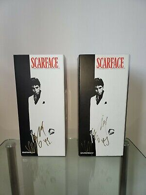 $1677.48 • Buy Enterbay Scarface 1/6 Scale Figures X2 Respect&war Version Signed By The Artist.