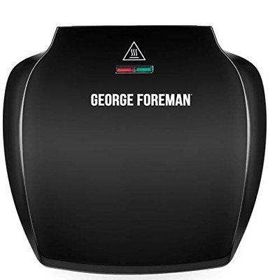 £34.05 • Buy George Foreman Family 5-Portion510 Sq Cm Plate Grill 23420 - Black
