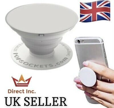 AU10.09 • Buy BRAND NEW PopSockets PopGrip 707025 Mobile Phone Stand - White