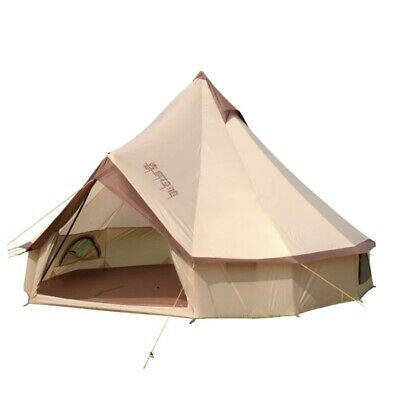 £390 • Buy Large Mongolia Yurt Tent Bell Tent Outdoor Waterproof Glamping Camping 4M